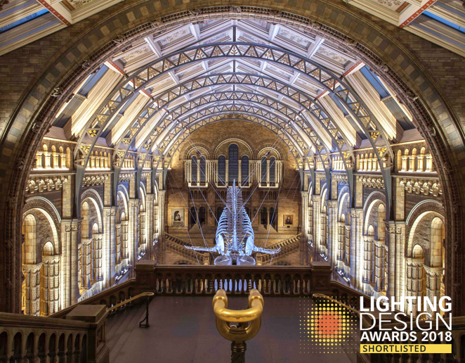 Dha design hintze hall project shortlisted at 2018 lighting design